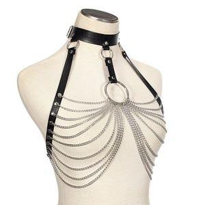 Metal Mania O-Ring Harness Top